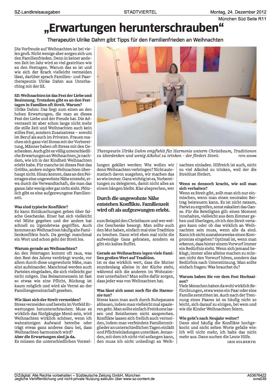 Pressetext über Ulrike Dahm