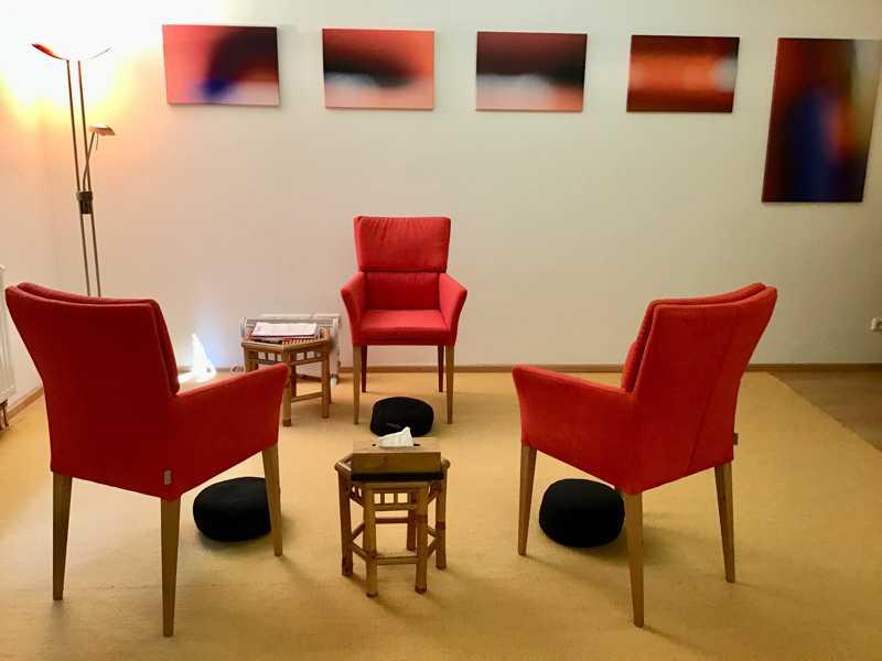Ein Blick in die Psychotherapeutische Praxis Dahm, München, Unterhaching